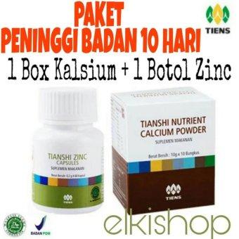 Peninggi Badan Tiens Nutrient Hight Calsium Powder Dan Zinc Elkishoptiens