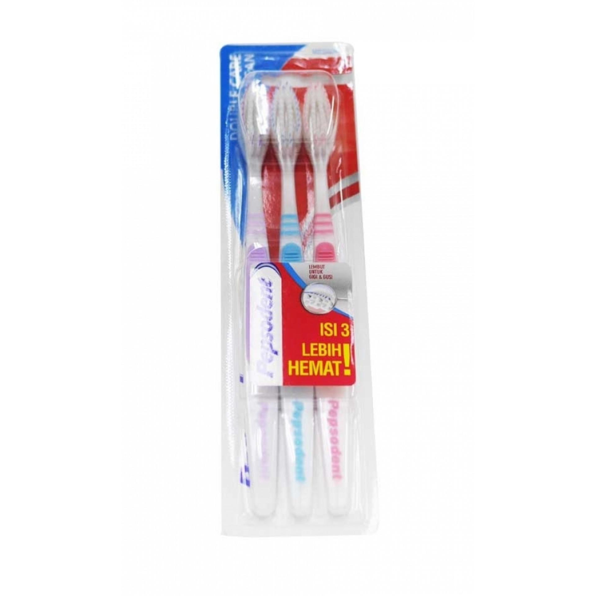 Pepsodent Toothbrush Sensitf Expert Soft Daftar Harga Terbaru Tb Triple Clean Mp 3pc Flash Sale Double Care 2 1