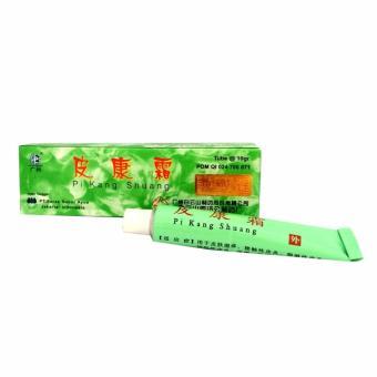 Pi kang shuang salep penyakit kulit gatal alergi, panu, jerawat -10gr