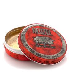 Pomad Reuzel Red Merah Medium Hold High Sheen Waterbased Water Based 4 Oz - Made in Holland + Free Sisir Saku