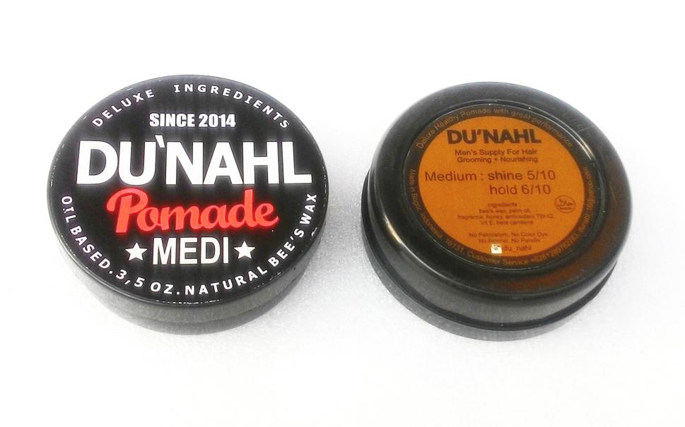REVIEW Pomade Dunahl Du'nahl Medi Medium Oilbased Terbaik