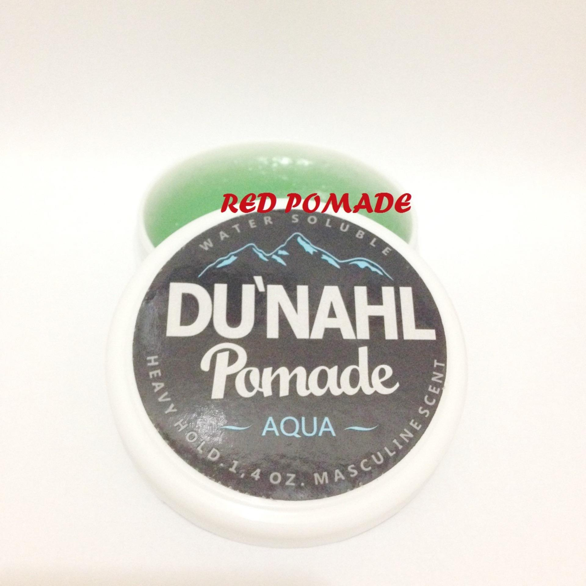 ULASAN POMADE DUNAHL DU'NAHL MINI AQUA 1.4 OZ HEAVY HOLD WATERBASED WATER BASED TRAVEL SIZE + FREE SISIR SAKU Terbagus