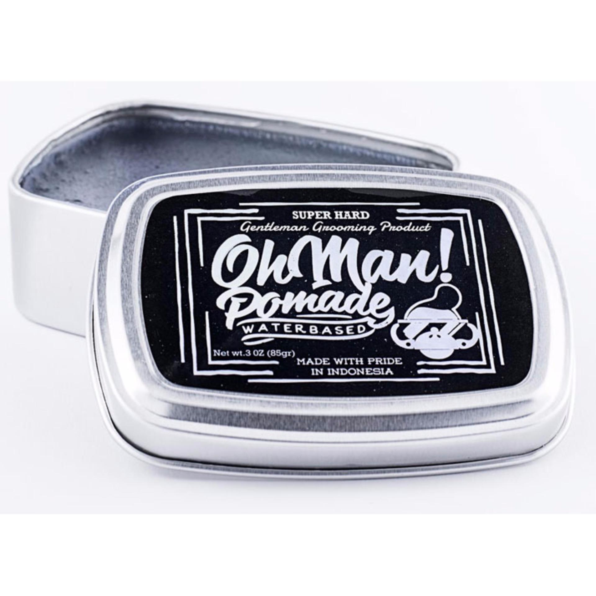 Pomade Oh Man Mystic Grey Waterbased 85 gram