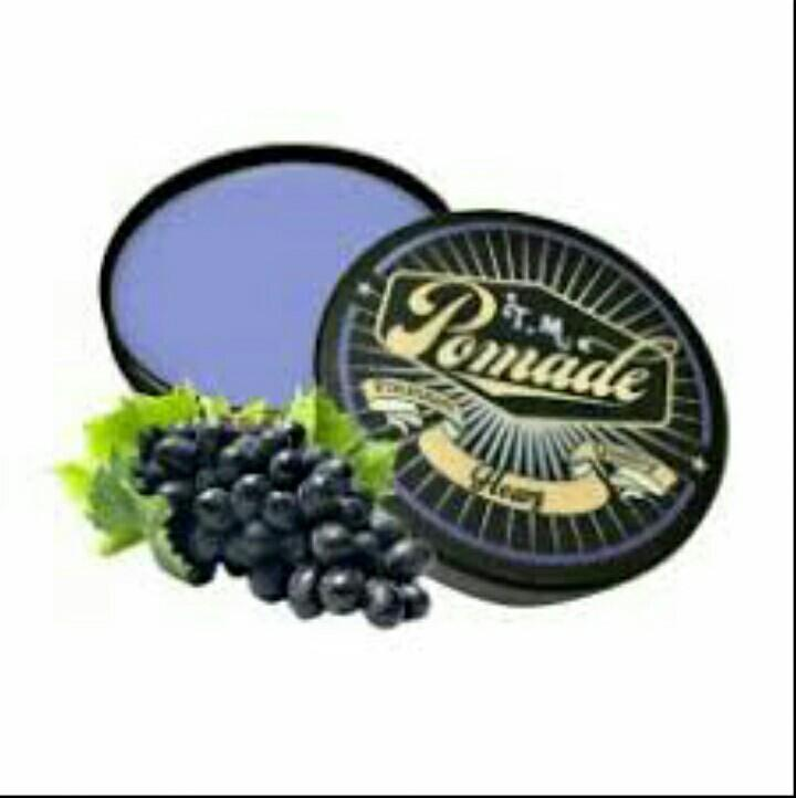 REVIEW Pomade TM Oil Based Aroma Heavy Grape Terbagus