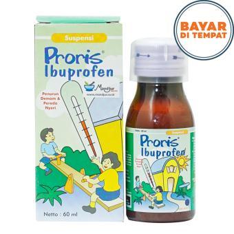 Proris (Ibuprofren) - Obat Demam Anak- Pereda Nyeri- Sakit Gigi ...