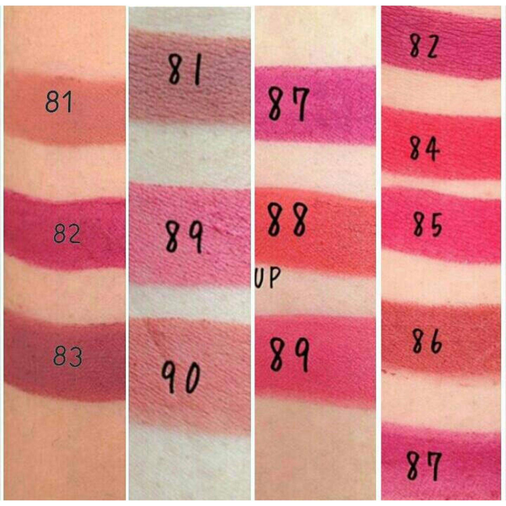 ... Purbasari Lipstick Color Matte 90 Free Alisha Tas Kosmetik Mini202-Hijau Tosca ...