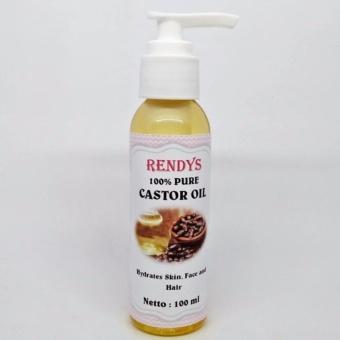 Harga Pure Castor Oil 100ml – Minyak Biji Jarak 100ml – Cold Pressed Murah
