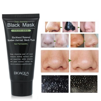 Purifying Bamboo Charcoal Blackhead Grease Removal Facial Pore Cleansing Mask - intl - 4