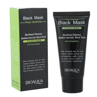 Purifying Bamboo Charcoal Blackhead Grease Removal Facial Pore Cleansing Mask - intl