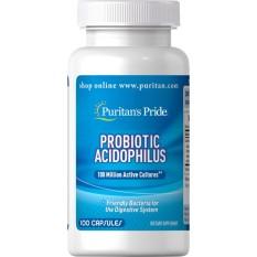Puritan Pride Probiotic Acidophilus - 100 Kapsul