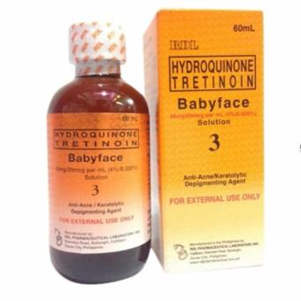 Rdl Hydroquinone Tretinoin Babyface Solution 3 Review