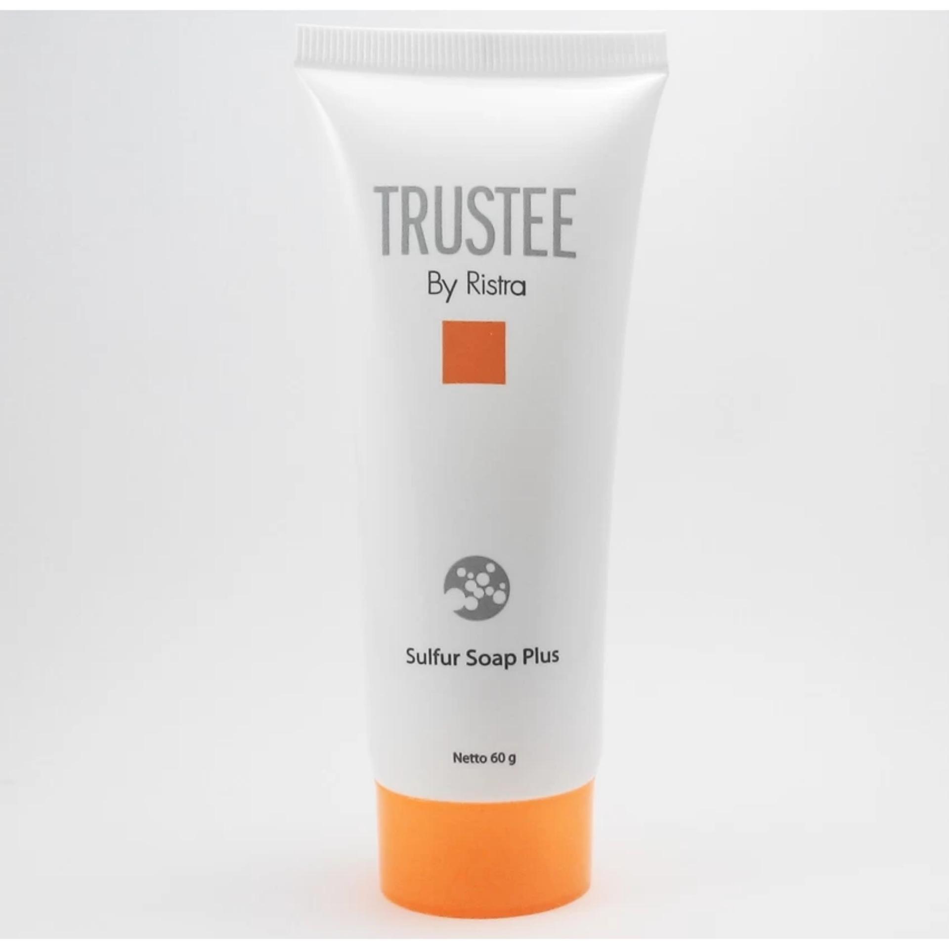 Terbaik Murah Ristra Trustee Sulfur Soap Plus Anggaran Asepso Antiseptic Flash Sale