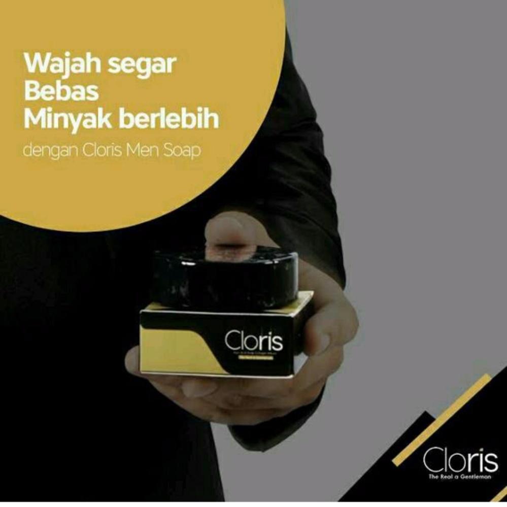 Hot Deals Sabun Muka Penghilang Bekas Jerawat Untuk Pria Cloris Men Wajah Soap