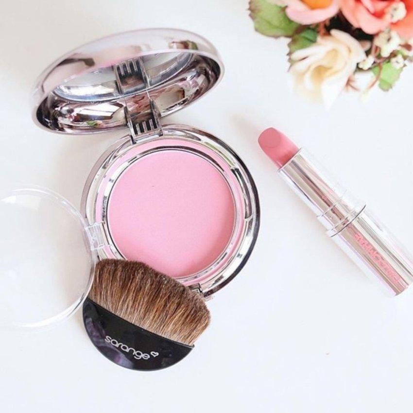 Sarange Teukbyeolhan Blusher Blush On Natural Pink - Wajah Lebih Bersinar
