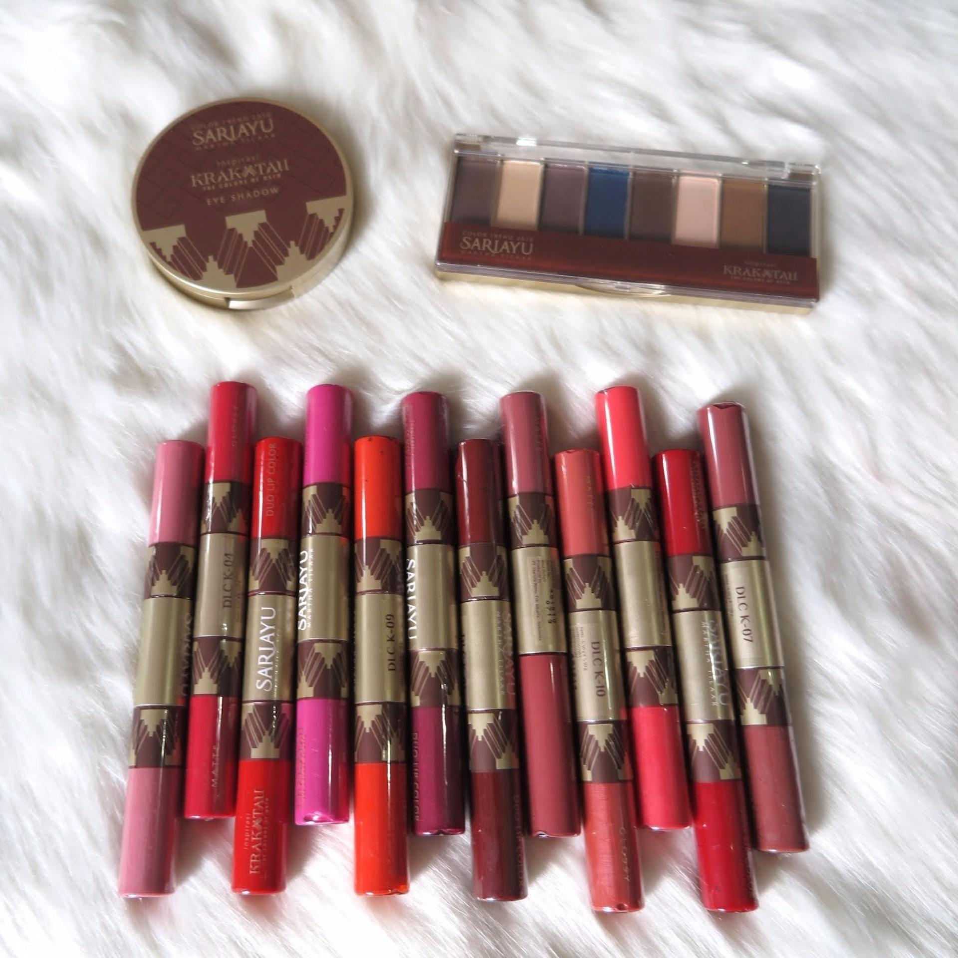 Sariayu Color Trend 2016 Duo Lip Krakatau 05 55 65 Gr E Senses Gloss Me 320475 12 Source