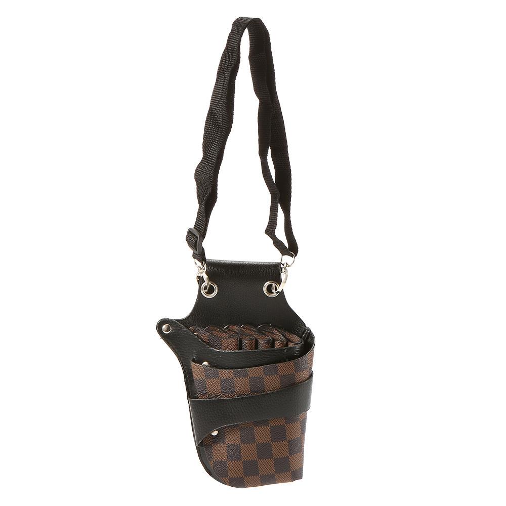 Sarung pemangkasan rambut gunting kantong tas dudukan untuk penata rambut  klip keling sabuk . 8bc72e50ec