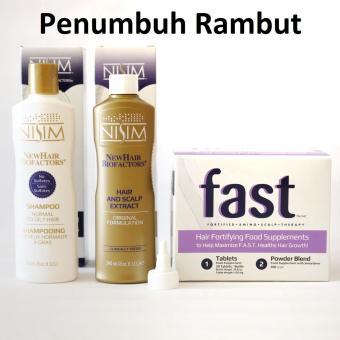 Harga Shampoo Biofactors + Tonic Biofactors Normal Minyak + Supplement FAST – Perawatan rambut Murah