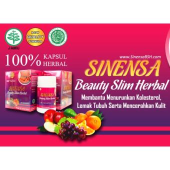 Sinensa Beauty Slim Herbal / Kapsul Pelangsing Herbal - 50 Kapsul