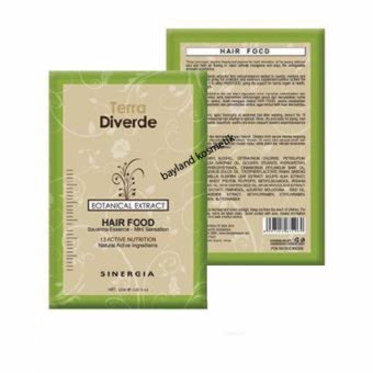 Harga Sinergia Terra Diverde Hair Food – Botanical Extract 25 ml 2 Sachet Murah