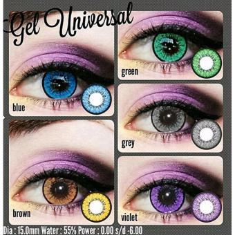 ... Softlens Gel Universal - Green + Free Lenscase - 3 ...