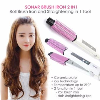 SONAR 2 IN 1, CATOKAN RAMBUT,SISIR blow catok,Catokan 2in1, Alatcurly rambut blow,Catokan curly blow
