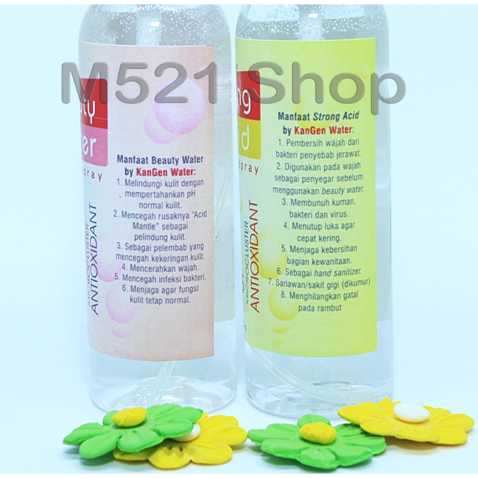 Periksa Peringkat Spray Wajah Strong Acid Dan Beauty Water 1 Set Isi 2 Botol