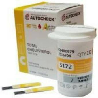 Strip Autochek Cholestrol