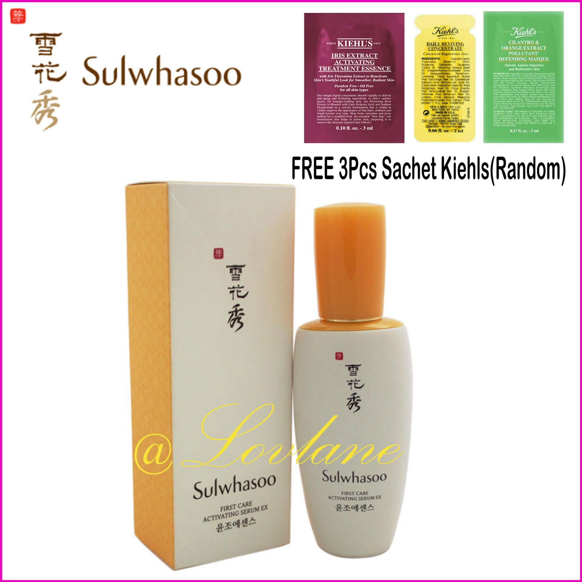 Daftar Harga Sulwashoo Timetresure Renovating Serum Ex 4ml Update Makarizo Honey Dew Pencari Sulwhasoo First Care Activating 60ml Original Flash Sale