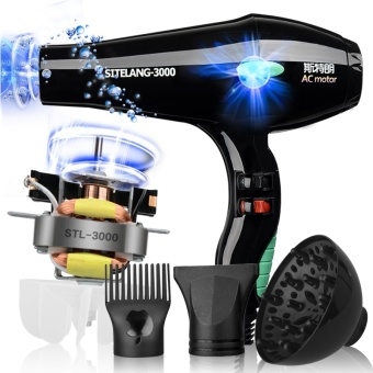 Harga Super hurricane hair dryer, home barber shop, hair salon, high power 3000W, hot air, PHILPS hair dryer – Strong 3000W send packages imported motors – intl Murah