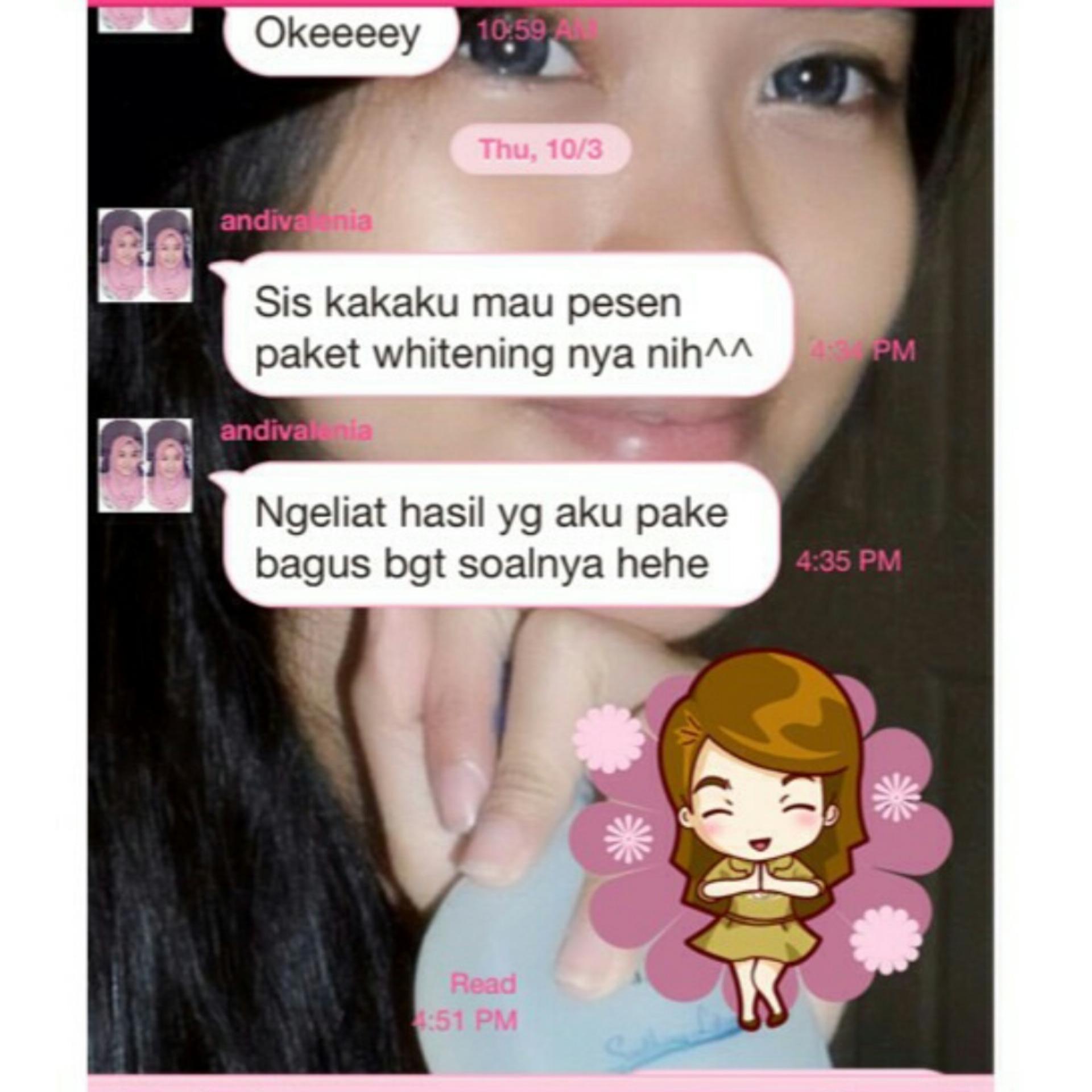 SUPIJATI SK - paket whitening / whitening series cream / crem pemutih wajah ...