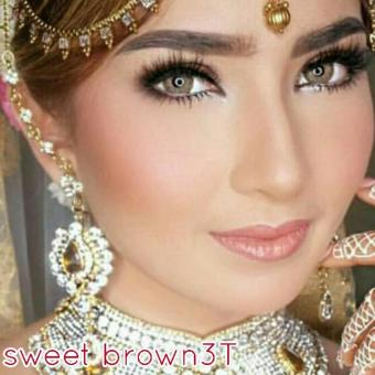 Sweet Tutty Fruity Softlens - Brown 3T