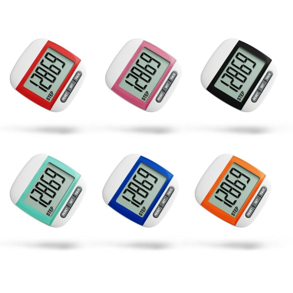 ... tahan air langkah gerakan kalori Counter Multi - Fungsi Digital Pedometer (acak warna) ...