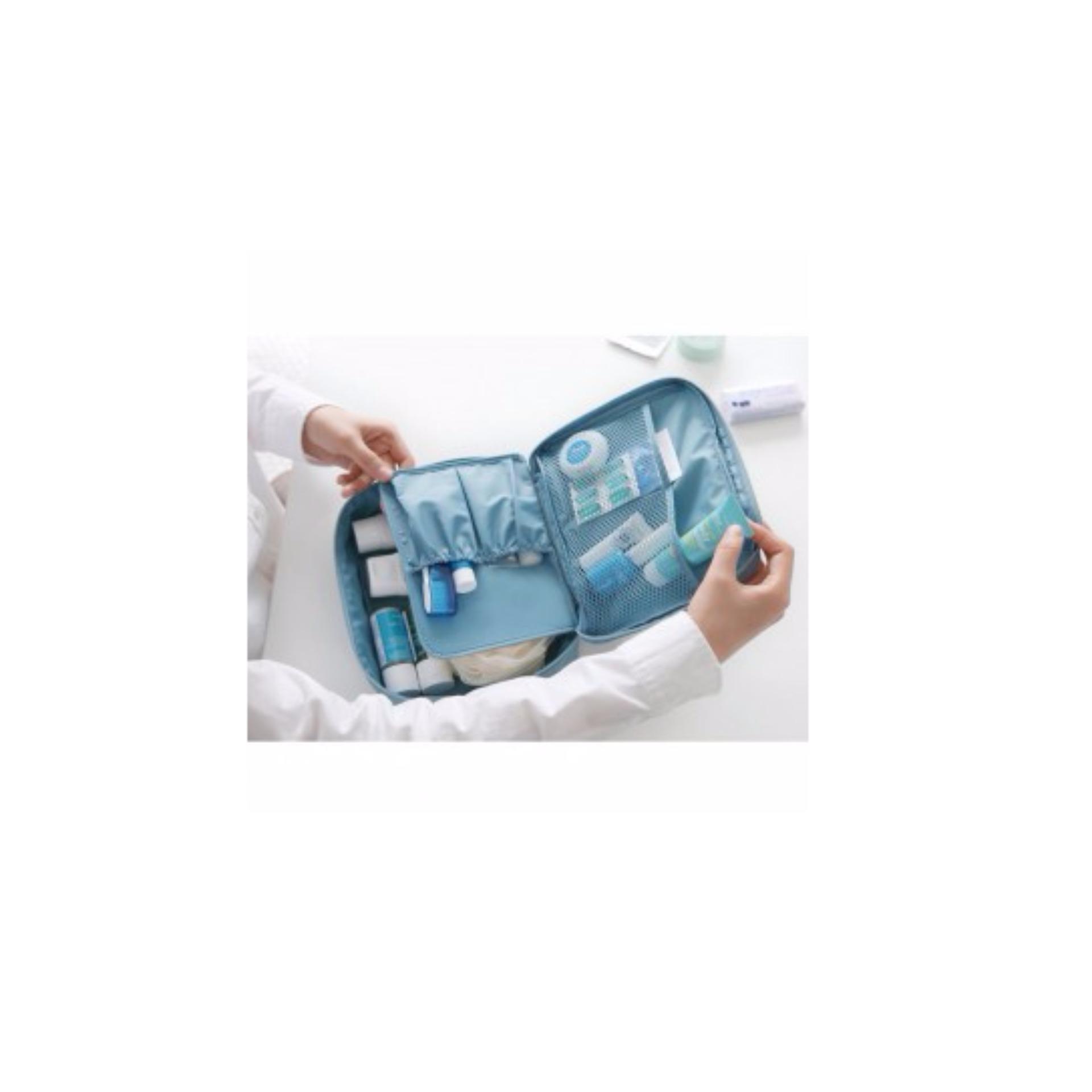 Tas Travel Bag In Organizer Untuk Kosmetik Dan Sabun Daftar Toiletries Alat Mandi Serbaguna 246 Orgnaizer