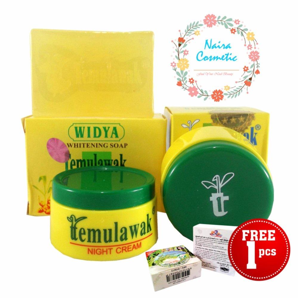 Flash Sale Temulawak Cream Asli - Paket Temulawak Original Free Sabun Beras Thailand