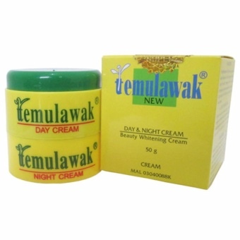 Temulawak Cream Hologram Original - Krim Pencerah Pagi dan Malam - Day & Night Cream