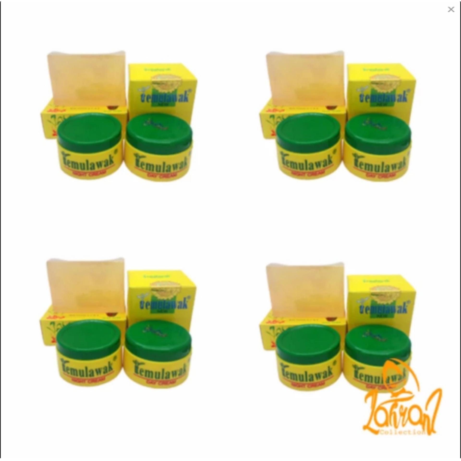Shock Price Temulawak Original - Cream Temulawak Asli [ 4 Paket Cream Temulawak Original ] penjualan