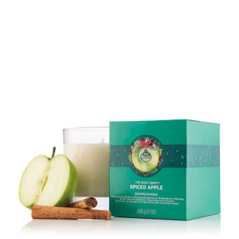The Body Shop Candle Spiced Apple 200g Xm16