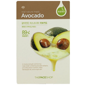 The Face Shop Mask Sheet Real Nature Avocado