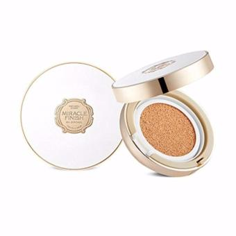The Face Shop Miracle Finish CC Long Lasting Cushion SPF50/PA++ - V202 Apricot Beige