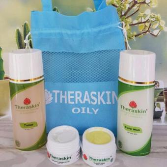 Theraskin Paket Oily MURAH Original THERASKIN mencerahkan kulit berminyak