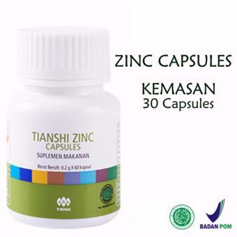 BELI SEKARANG Tianshi Zinc Capsules - Penggemuk Badan Herbal Tiens Zinc - Kemasan 30 Kapsul Klik di sini !!!