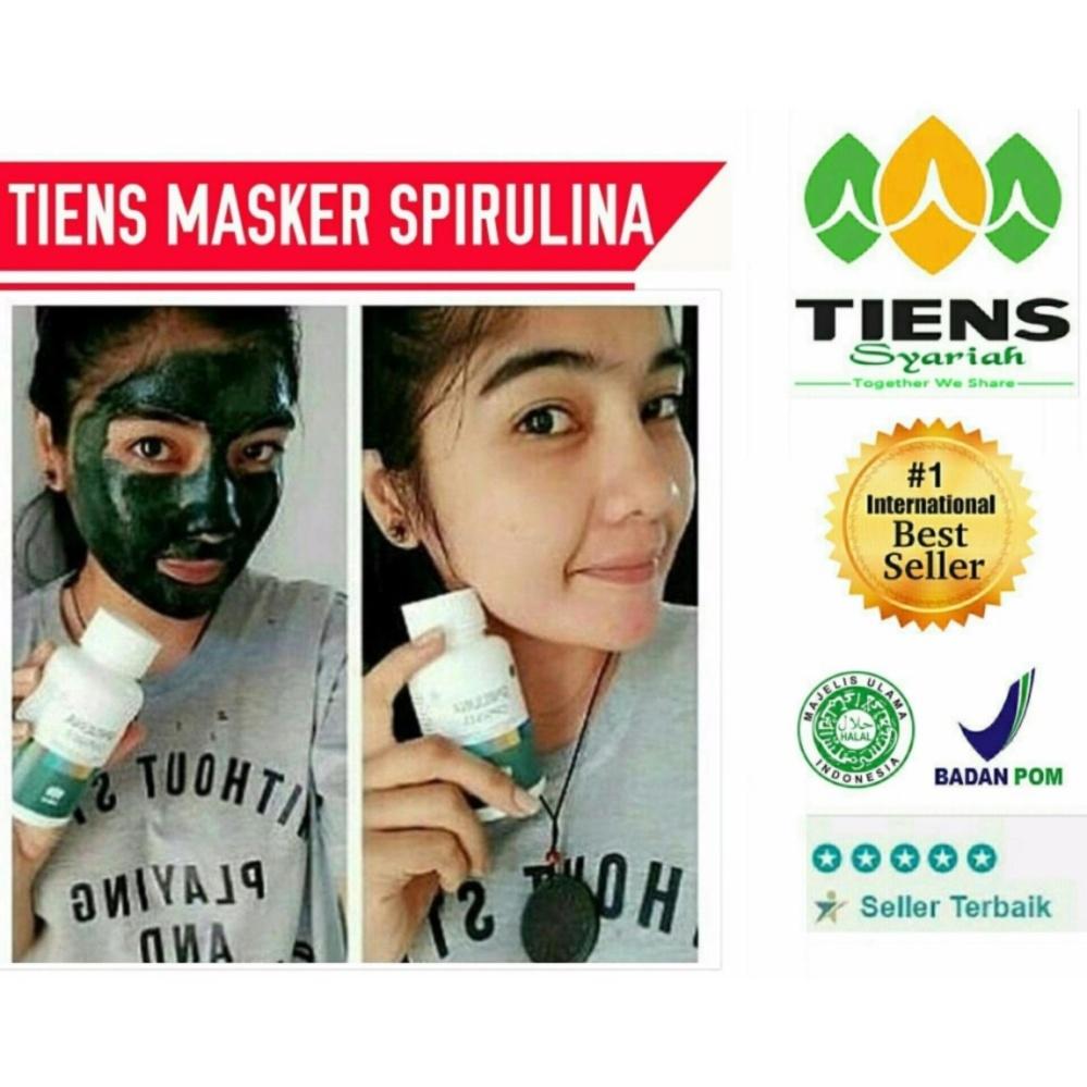 Harga Termurah Tiens Masker Spirulina Tiens Pemutih Wajah