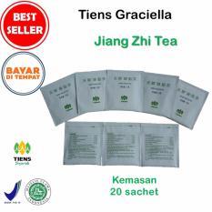 Tiens Teh Pelangsing Jiang Zhi Tea – Paket Promo Banting Harga [20 Sachet] + GRATIS Kartu Diskon Tiens Graciella