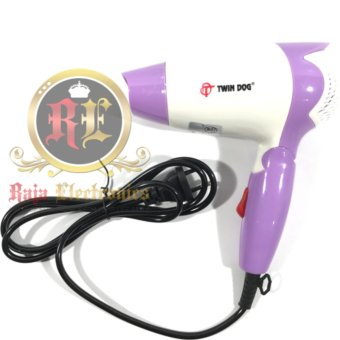 Harga Twin Dog Pengering Rambut TD 2235 / Hair Dryer Lipat Mini 350 watt Murah