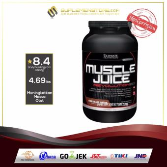 Ultimate Nutrition Muscle Juice Revolution 4.69 lb coklat