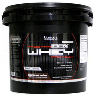 Ultimate Nutrition Prostar 100% Whey Protein 10 lbs - Chocolate