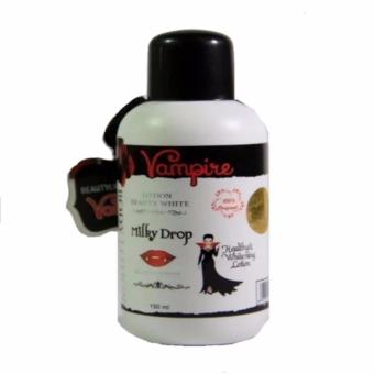 Vampir Lotion Beauty White Milky Drop 150ml -Putih