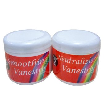 Harga Vanestrix Smoothing Cream / Pelurusan Untuk Rambut Rusak Step 1& 2 Murah