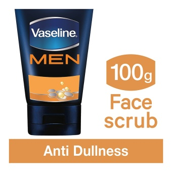 Vaseline Men Face Scrub Anti Dullness 100 G