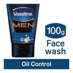 Vaseline Men Face Wash Oil Control 100 G